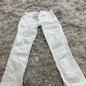 Citizens of Humanity white bootcut mini 24